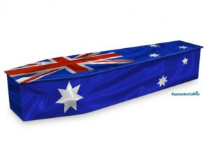 Expression Coffins Australian Flag 2200