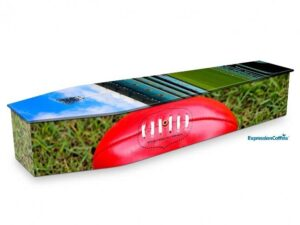 Expression Coffins Australian Rules Football 2200