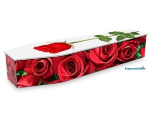 Expression Coffins Red Roses 2200