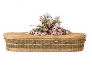 Hand Woven Jude Wicker Coffin 1200