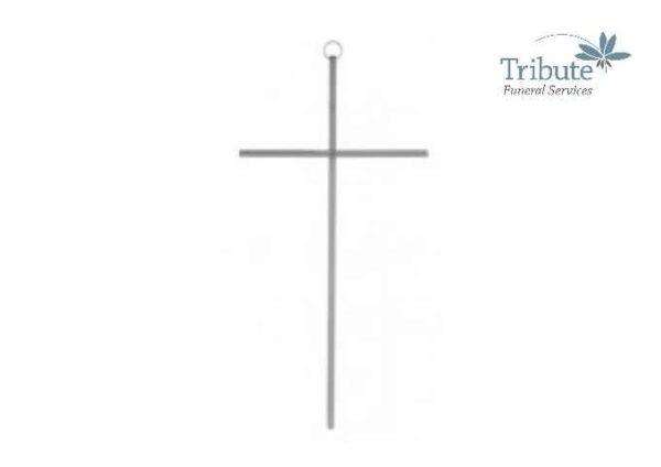 Thin Silver Cross