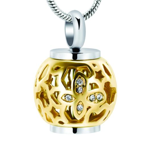 Lantern Urn Gold