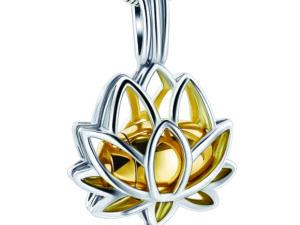 Lotus Urn Gold