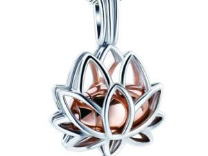 Lotus Urn Rose Gold
