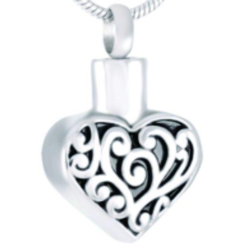 Filigree Heart Silver